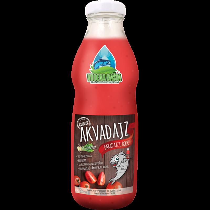 akvadajz paradajz u boci flaša